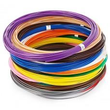 Набор пластика PLA 6 цветов по 10 метров для 3D